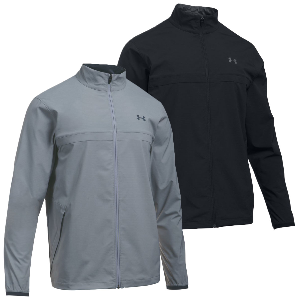 06bca7e5f0746f Details about Under Armour Mens UA Storm Windstrike Full Zip Performance  Golf Jacket