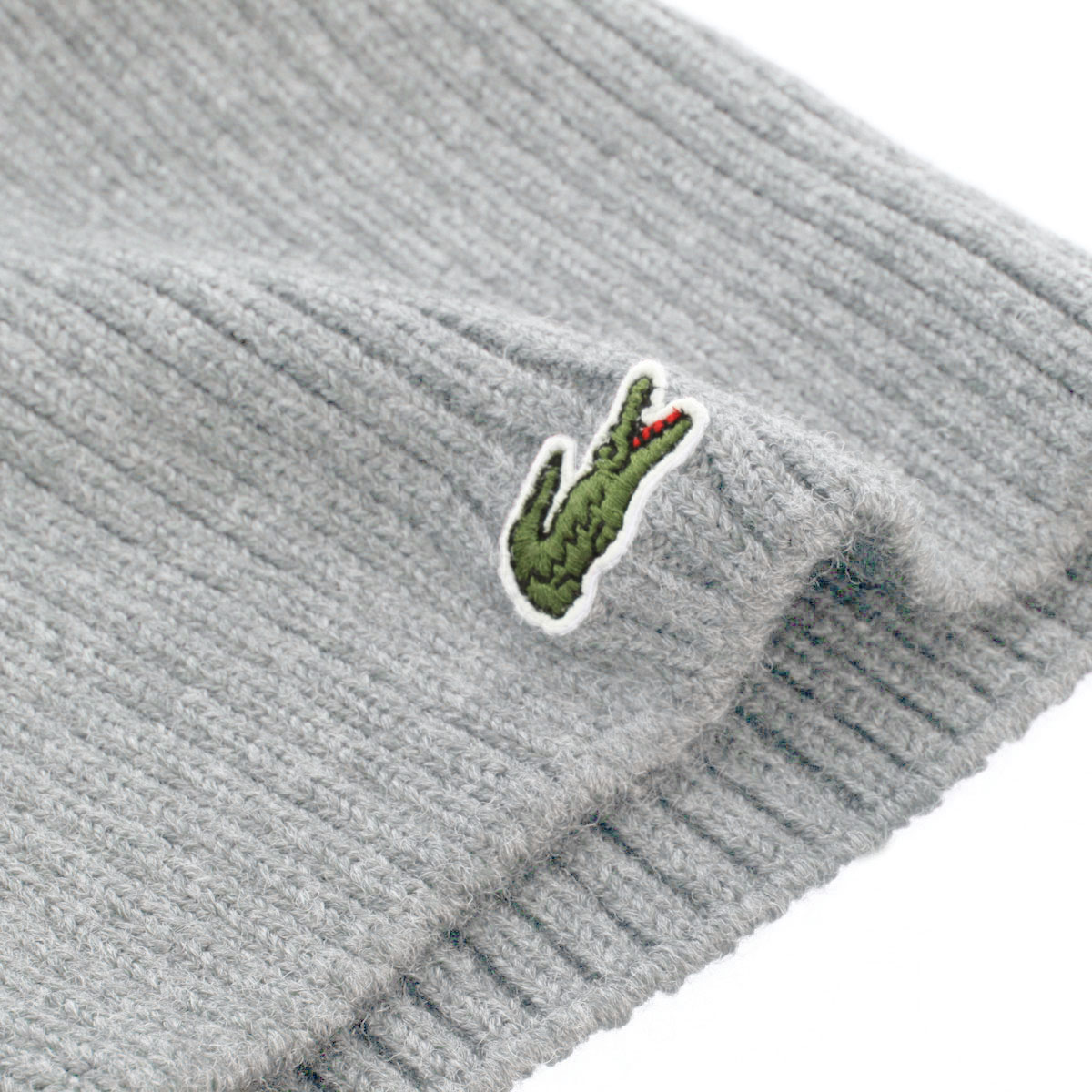 Lacoste-Mens-RB3504-Single-Color-Ribbed-Beanie-Winter-Hat-27-OFF-RRP