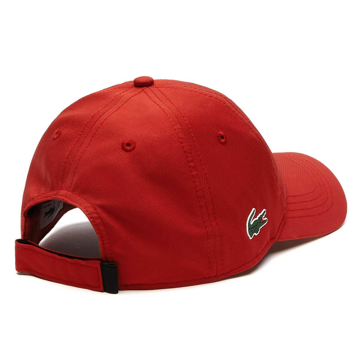 162a612f806 Lacoste Mens 2019 RK2447 Sports Weave Taffeta Solid Diamond Baseball ...