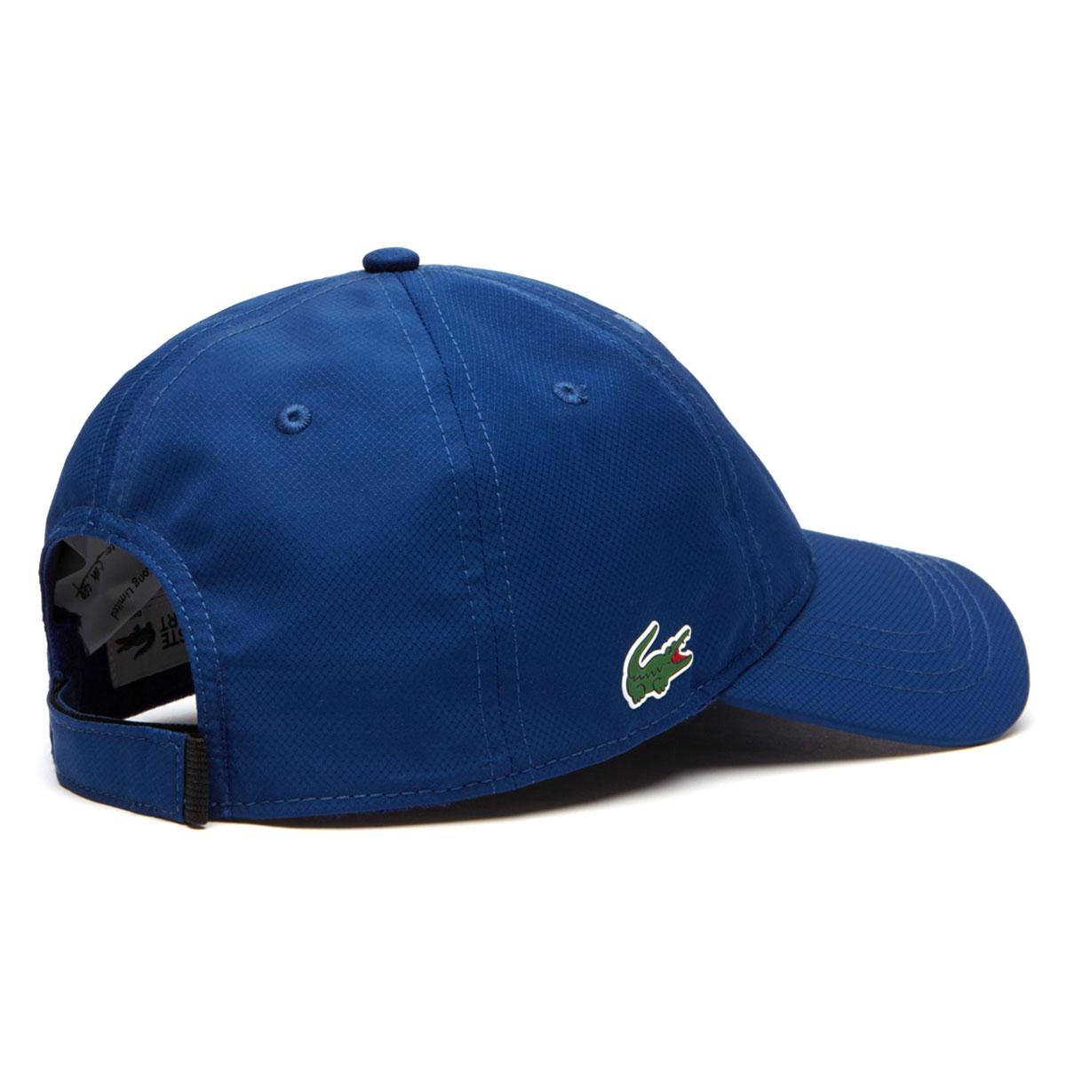 0b702cbb32c Lacoste Mens 2019 RK2447 Sports Weave Taffeta Solid Diamond Baseball ...