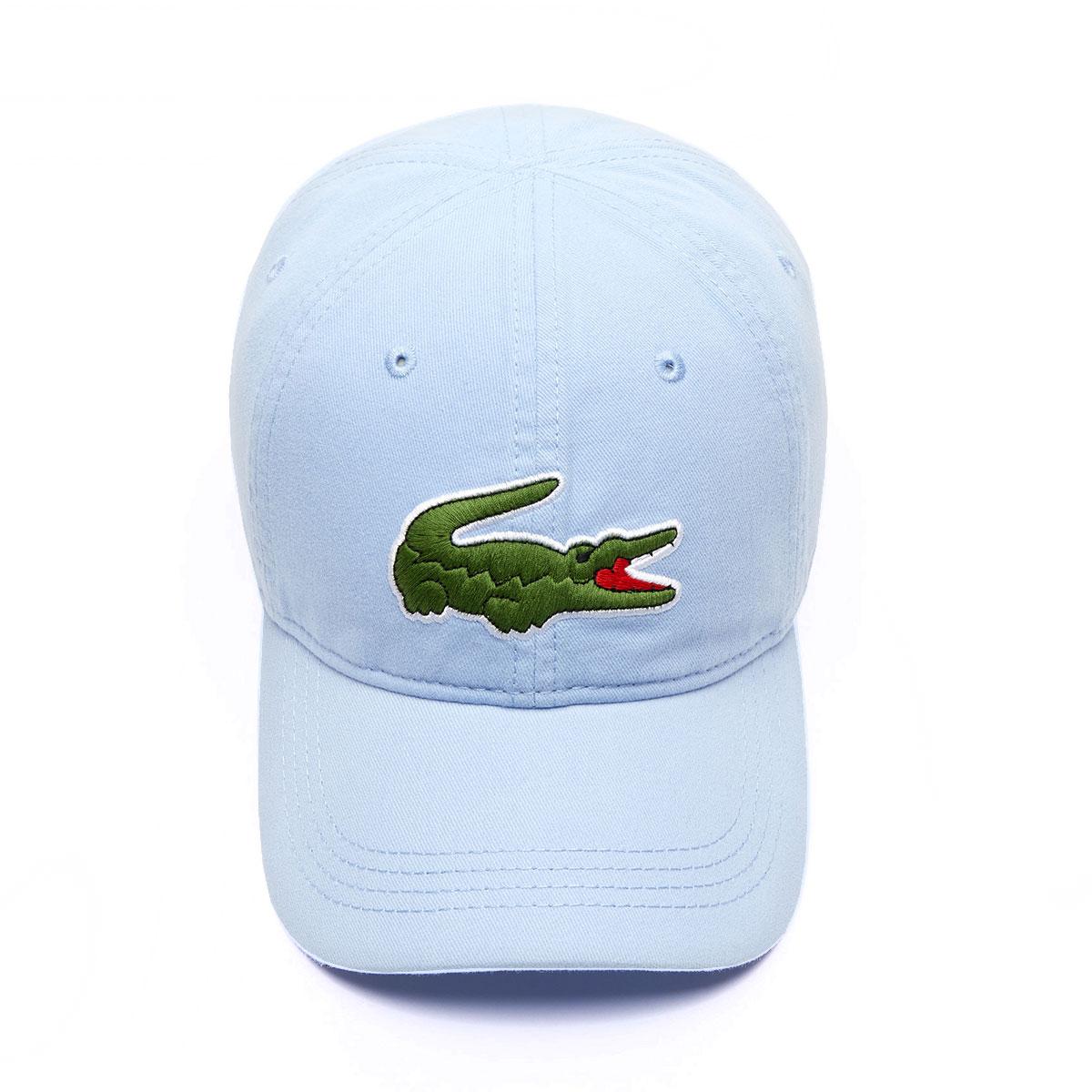 4ba45e0c Details about Lacoste Mens 2019 Big Croc Gabardine Adjustable Sport Hat Cap