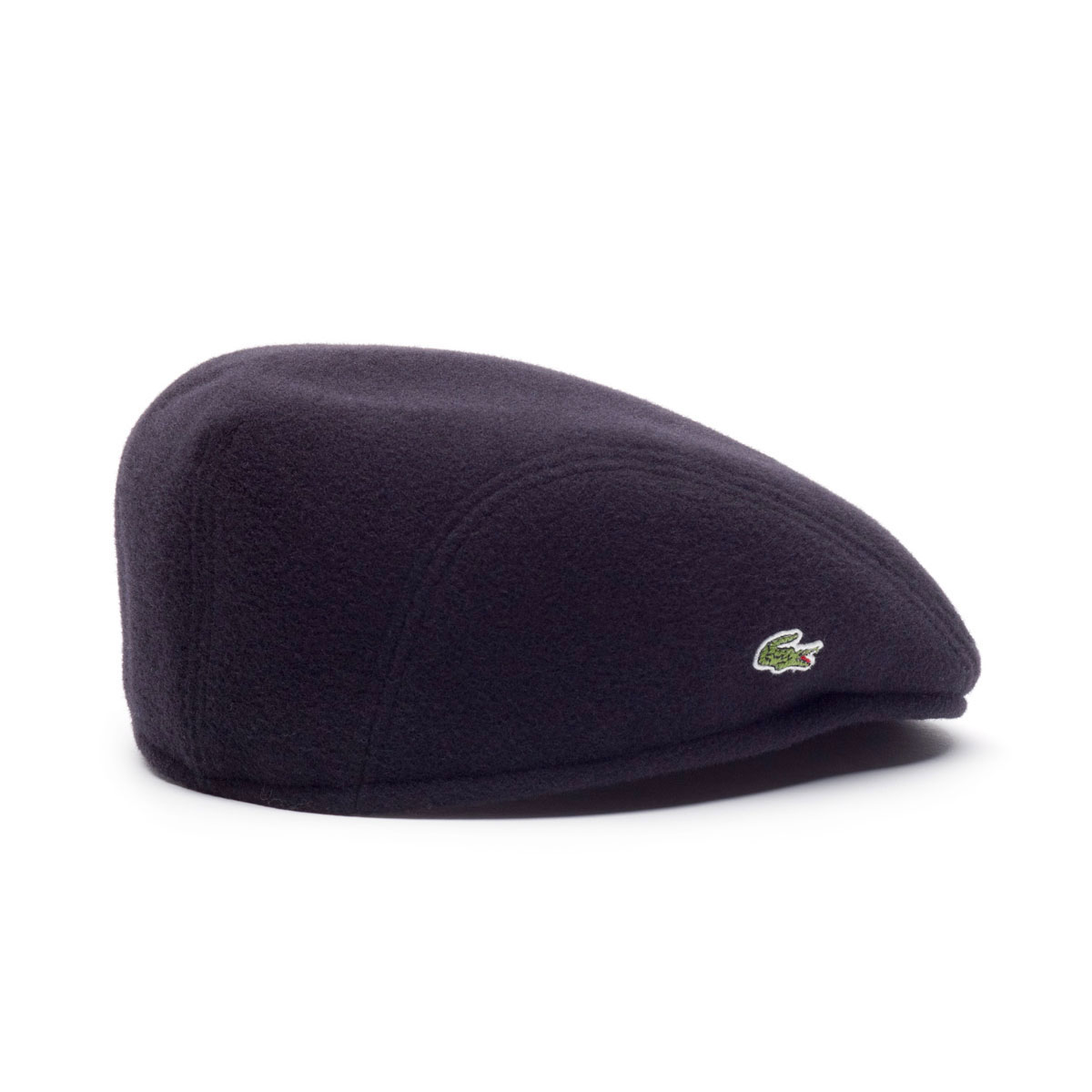 92a6675f22e Lacoste Mens Flat Wool Cap RK9814 Classic Style Traditional Hat
