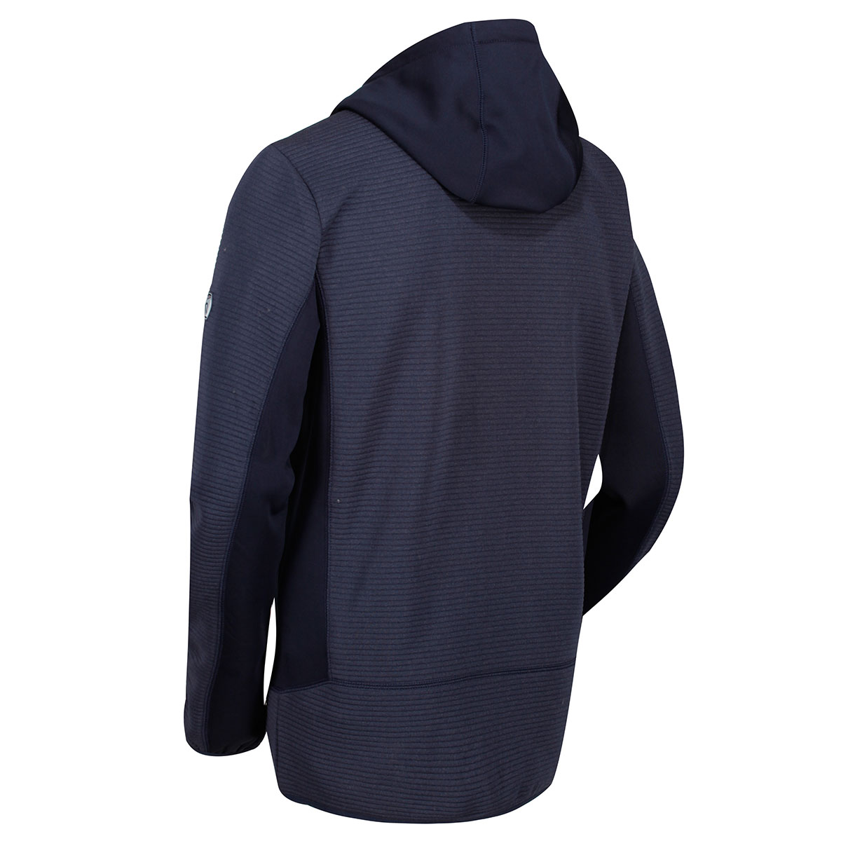 Regatta-Mens-Tarnis-II-Ribbed-Fabric-Stretch-Hoody-Jacket-70-OFF-RRP thumbnail 7