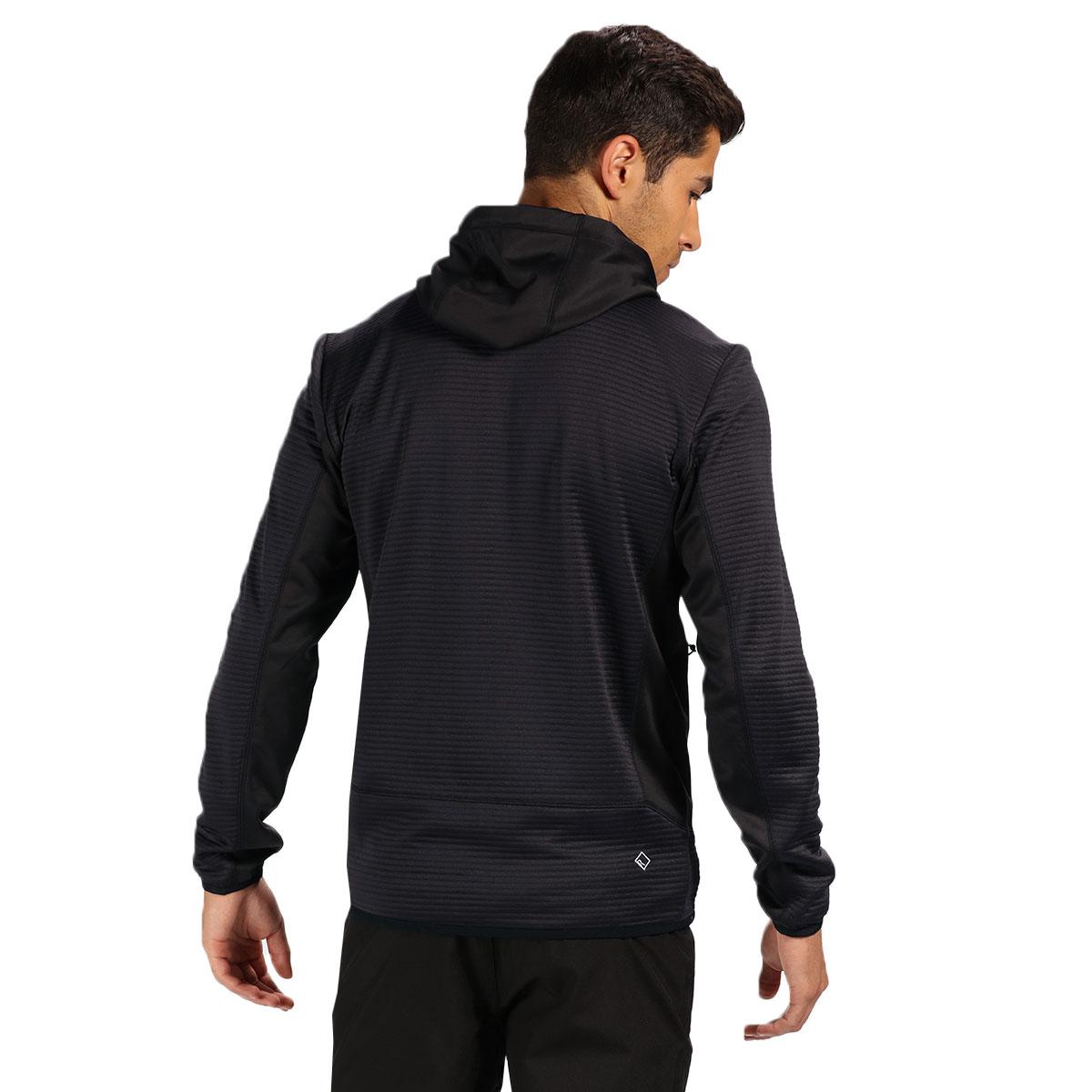 Regatta-Mens-Tarnis-II-Ribbed-Fabric-Stretch-Hoody-Jacket-70-OFF-RRP thumbnail 3