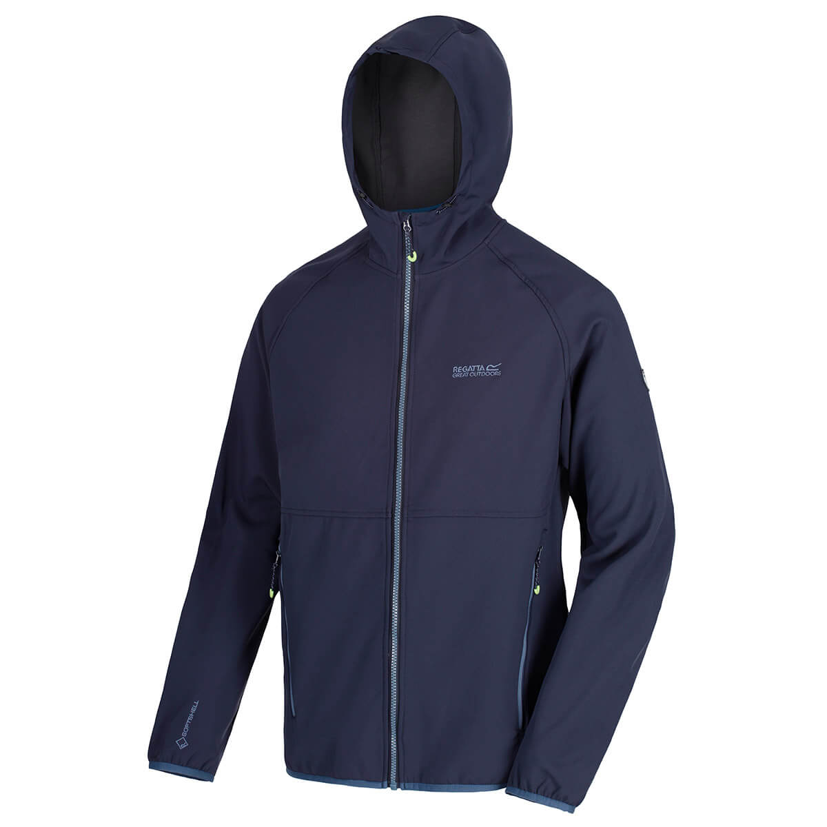 Regatta-Mens-Arec-II-Softshell-Waterproof-Stretch-Hooded-Jacket-68-OFF-RRP thumbnail 16