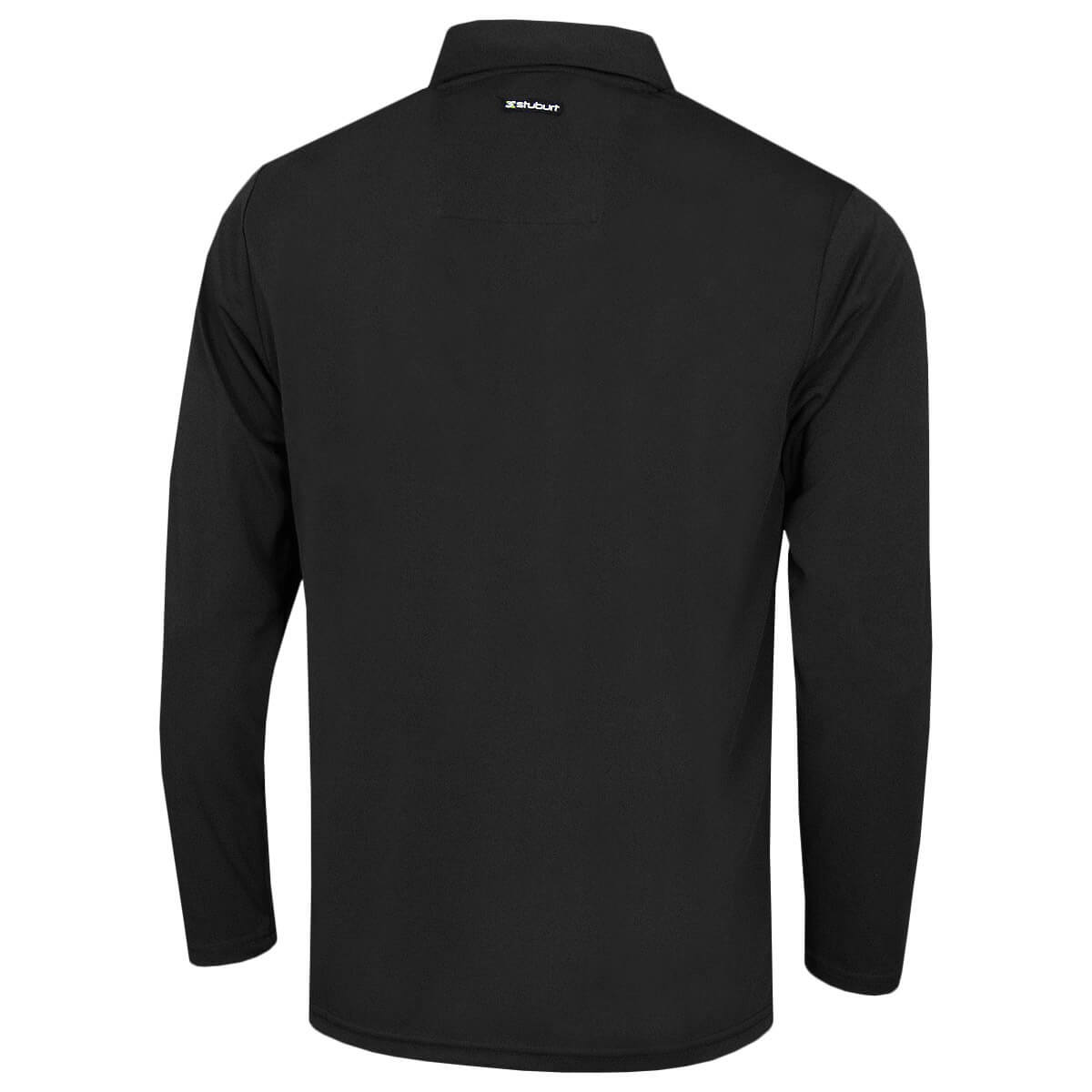 Stuburt-Mens-Urban-Long-Sleeve-Wicking-Breathable-Golf-Polo-Shirt-33-OFF-RRP thumbnail 5