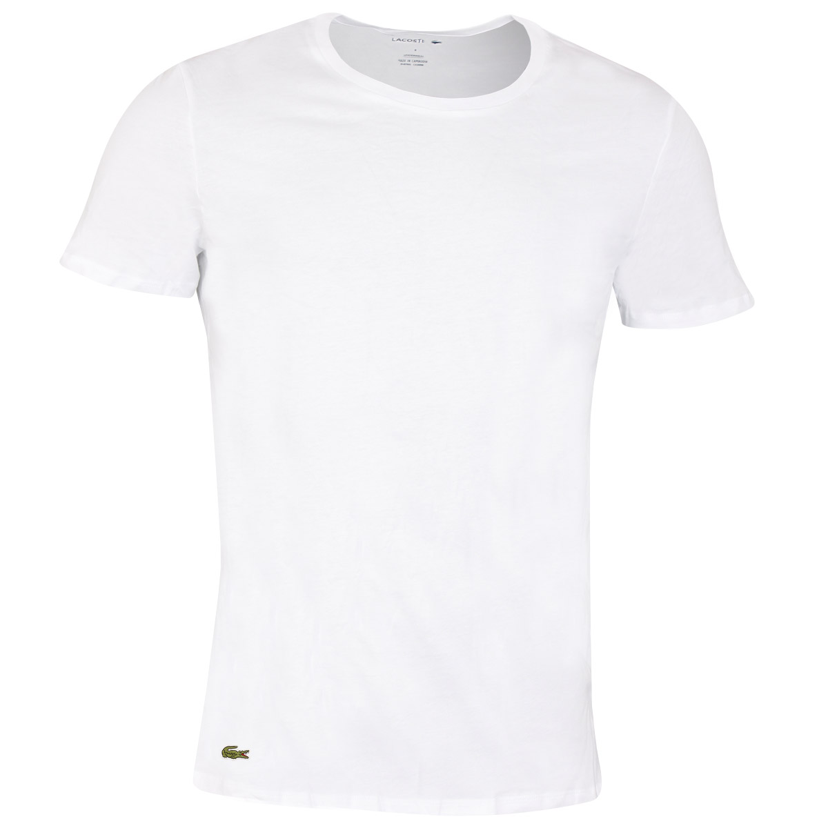 Lacoste-Mens-2020-TH3451-Crew-Neck-Cotton-Ribbed-Crocodile-3-Pack-T-Shirt thumbnail 6