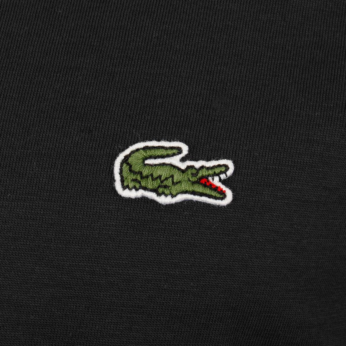 Lacoste-Mens-2019-SS-V-Neck-TH6710-Short-Sleeve-Pima-Cotton-Tee-T-Shirt thumbnail 6