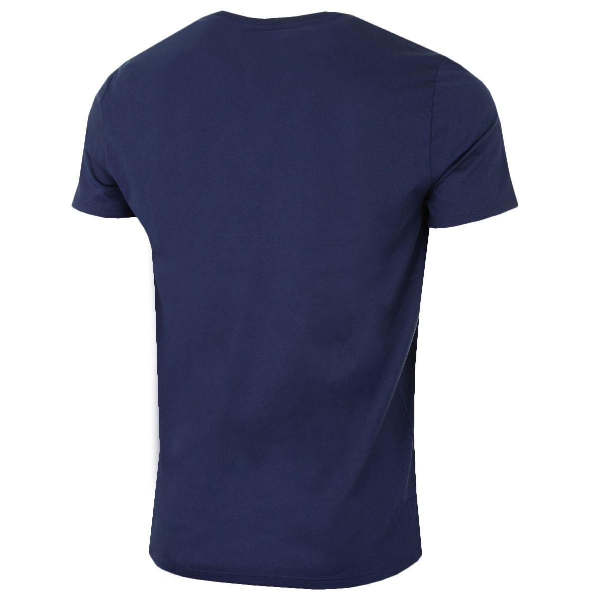 Lacoste-Mens-2019-SS-V-Neck-TH6710-Short-Sleeve-Pima-Cotton-Tee-T-Shirt thumbnail 16