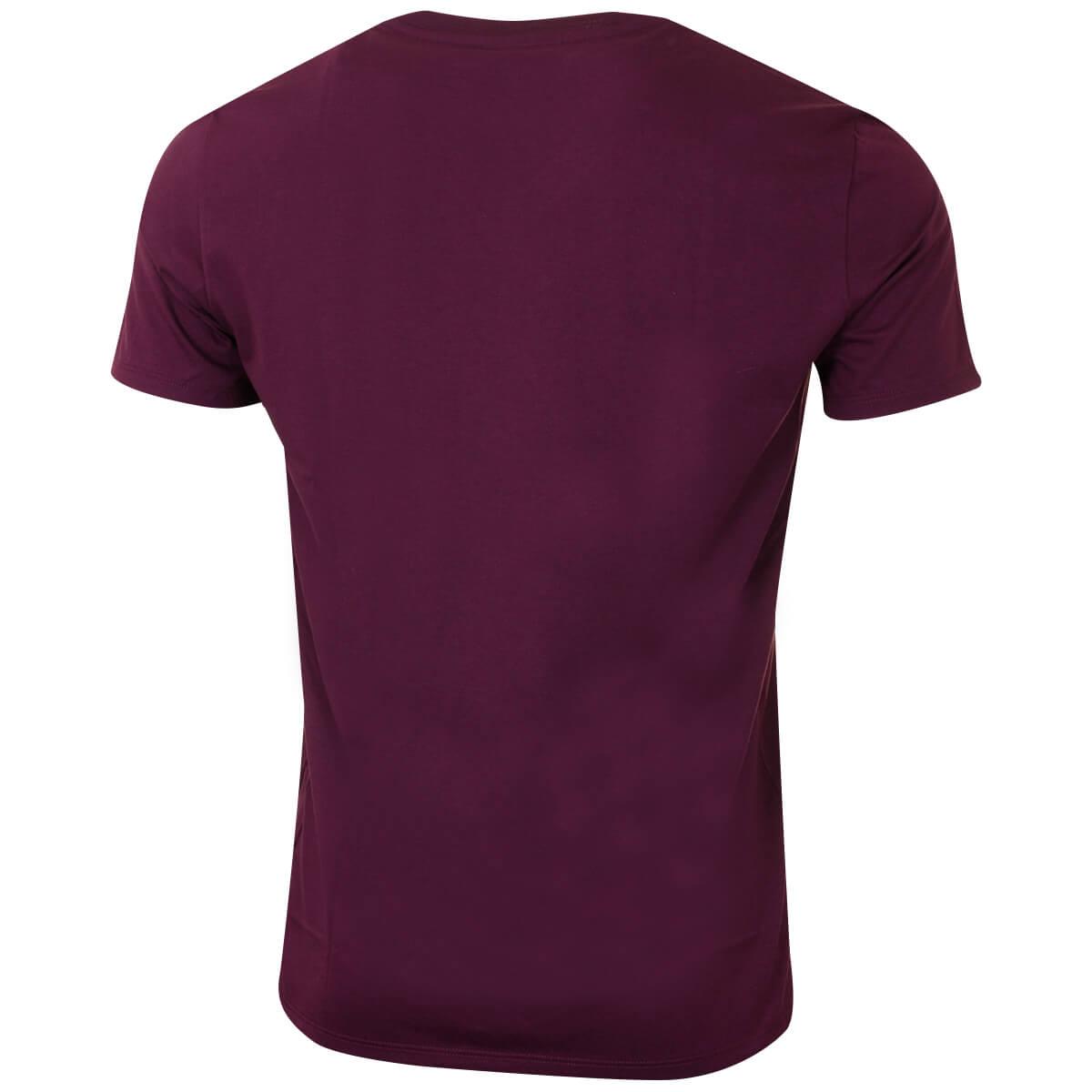 Lacoste-Mens-2019-SS-V-Neck-TH6710-Short-Sleeve-Pima-Cotton-Tee-T-Shirt thumbnail 12