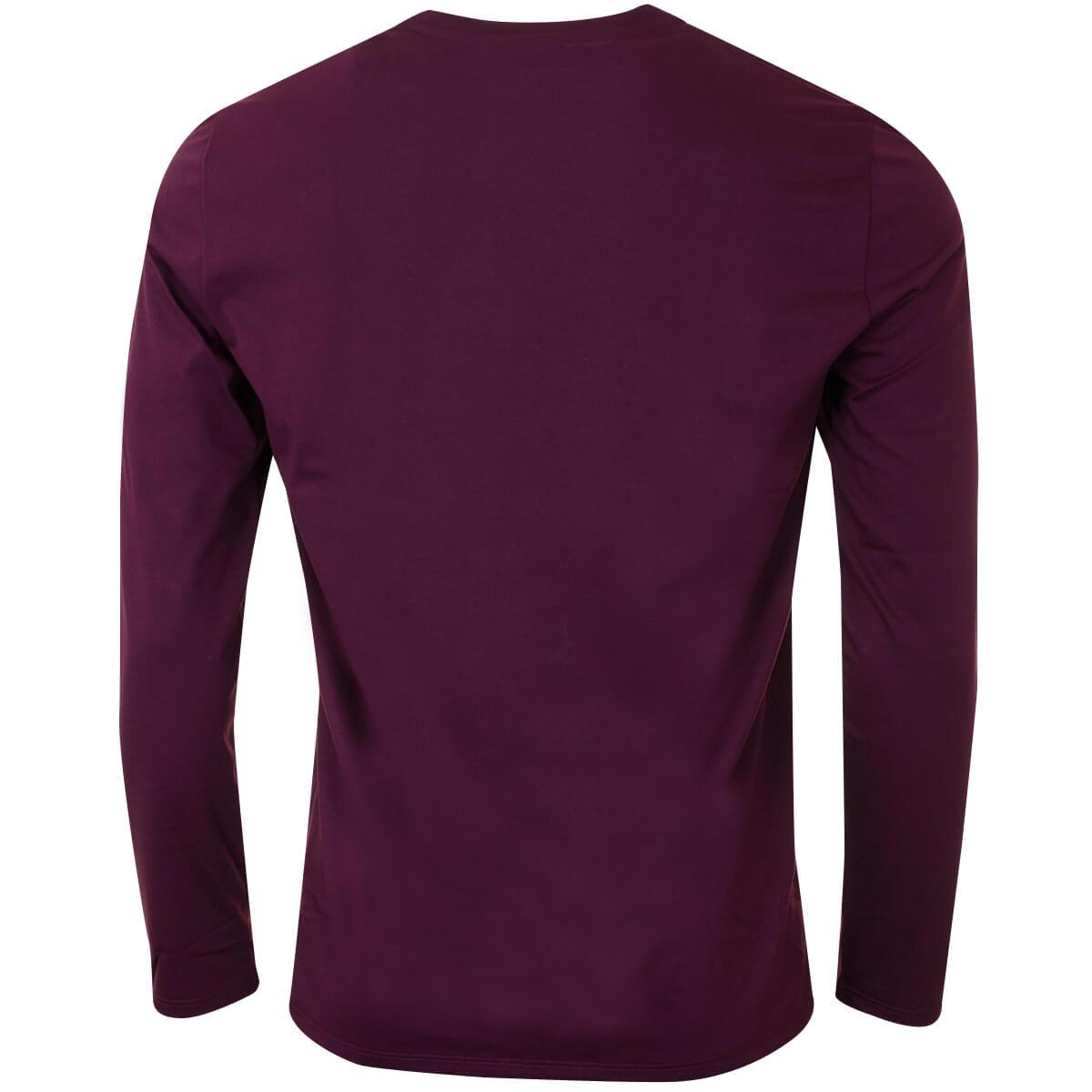 Lacoste-Mens-2019-LS-Crew-Neck-Cotton-T-Shirt-TH6712-Long-Sleeve-Tee thumbnail 5