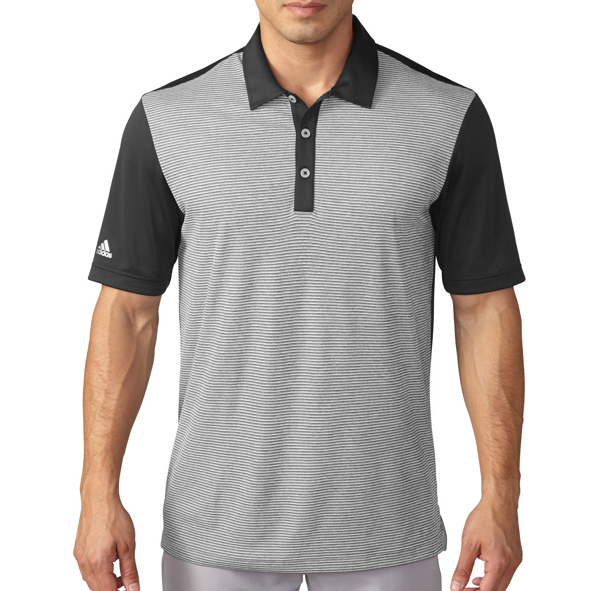 adidas-Golf-Mens-ClimaChill-Heather-Stripe-Performance-Golf-