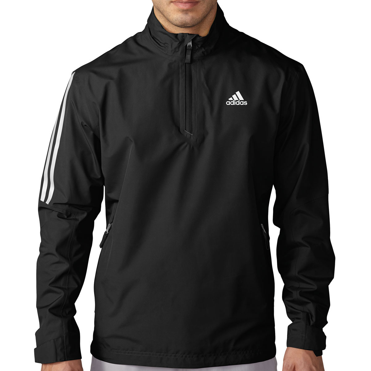 Adidas Golf Gore-Tex 2-Layer Half Zip Waterproof Pullover Jacket ...