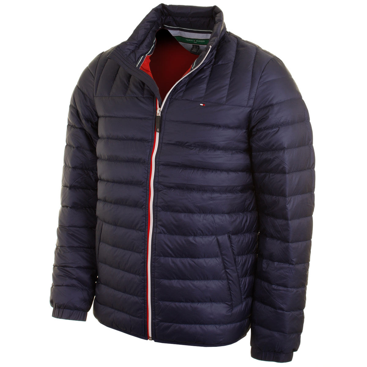 Tommy Hilfiger Golf Mens Nigel Quilted Jacket Lightweight Thermal ...