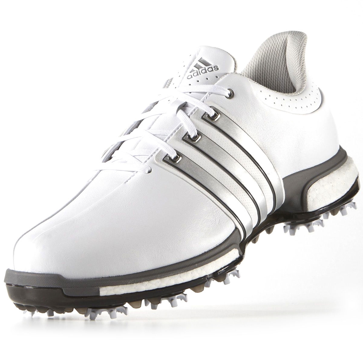Adidas Golf Mens Tour 360 Boost ClimaProof Waterproof Golf Shoes; Picture 2  of 5 ...