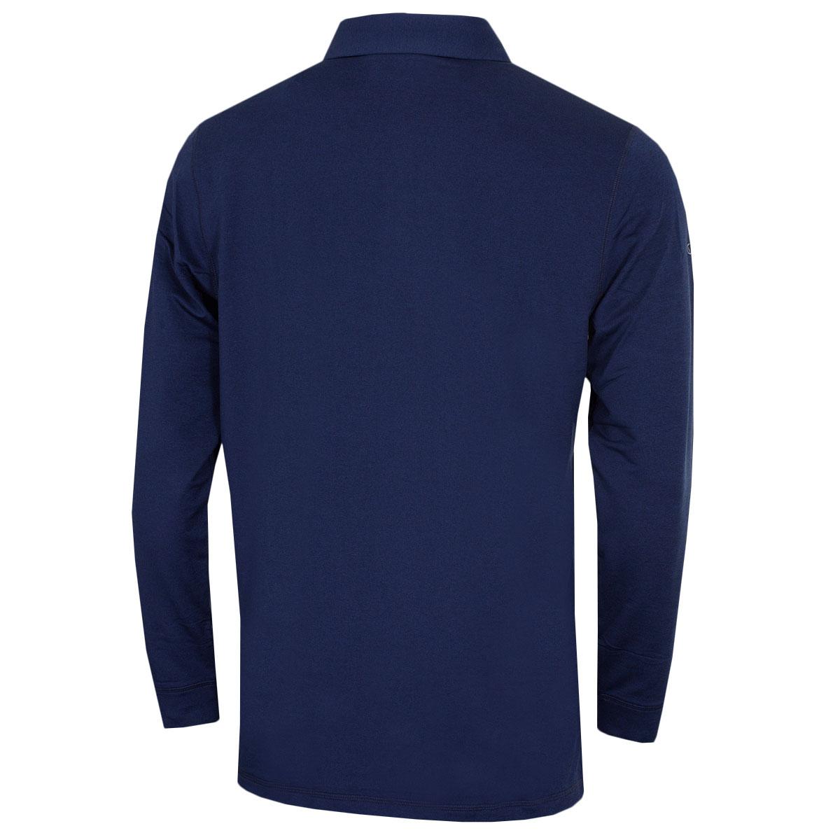Callaway-Golf-Mens-2019-Long-Sleeve-Stretch-Opti-Dri-Polo-Shirt thumbnail 3