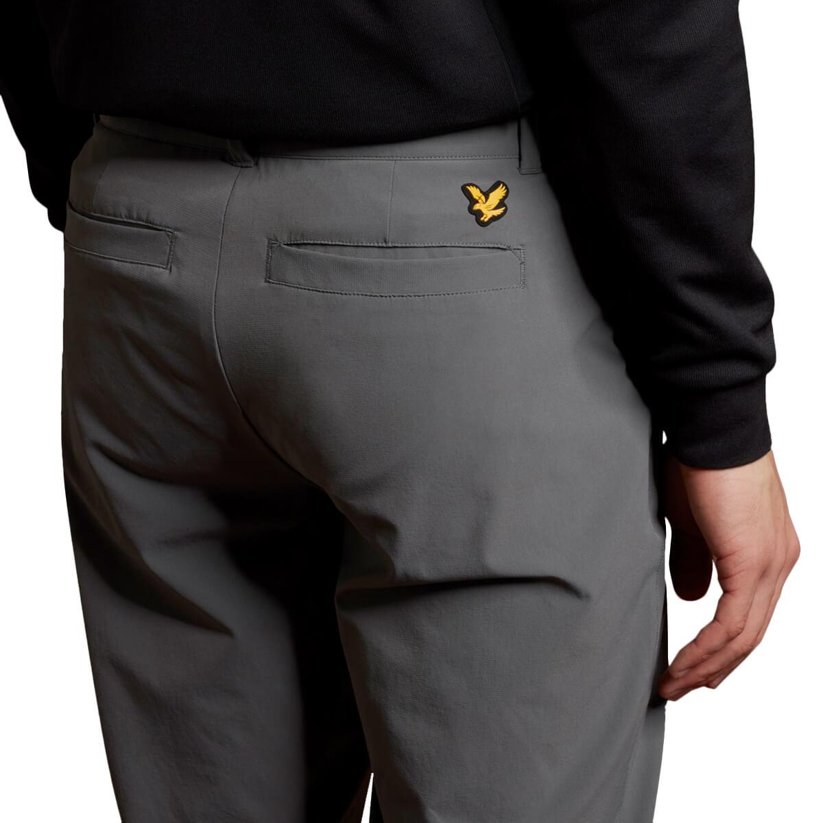 thumbnail 9 - Lyle & Scott Mens Golf Tech Light Stretch Breathable Trousers 55% OFF RRP