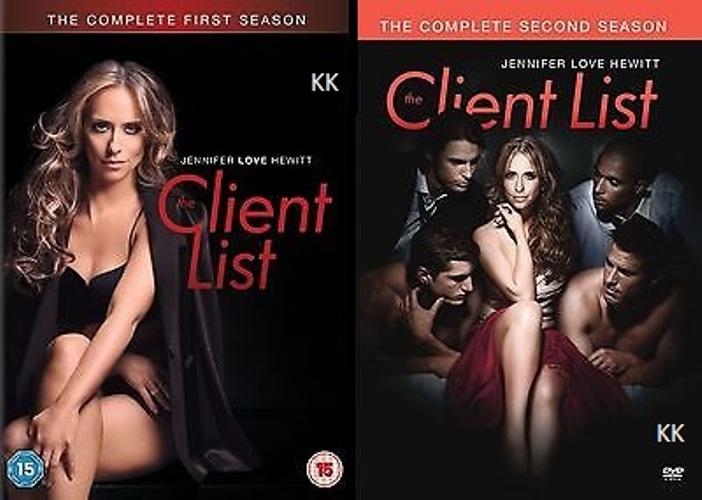 The Client List Season 1+ 2 TV (Jennifer Love Hewitt ...