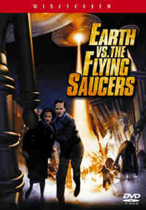 Earth Vs The Flying Saucers (Ray Harryhausen) Single Disc ...