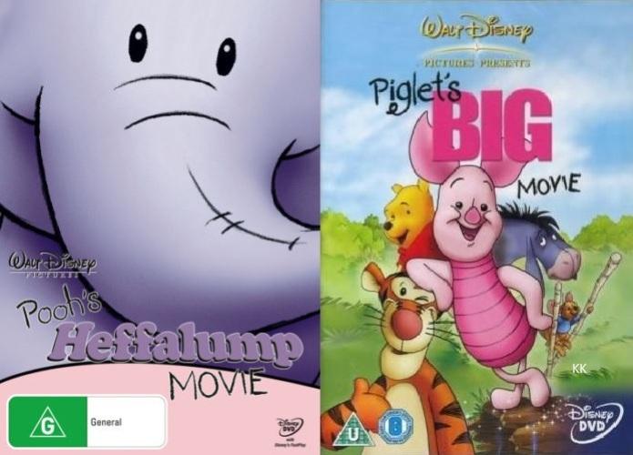 f461afa11f35 Pooh s Heffalump Movie + Piglet s Big Movie (Winnie the Pooh) Region ...