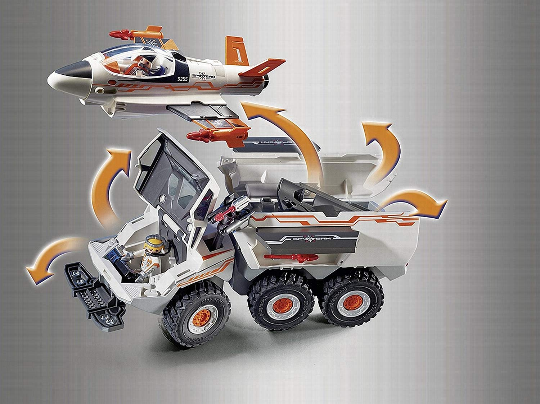 playmobil 9255 top agents spyteam battle truck spy jet pad