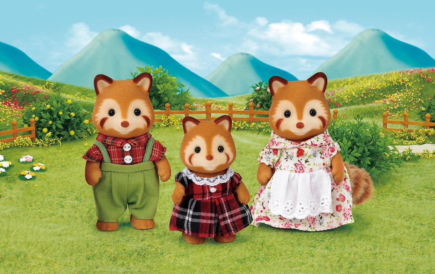 Sylvanian Families Red Panda Family Set | eBay