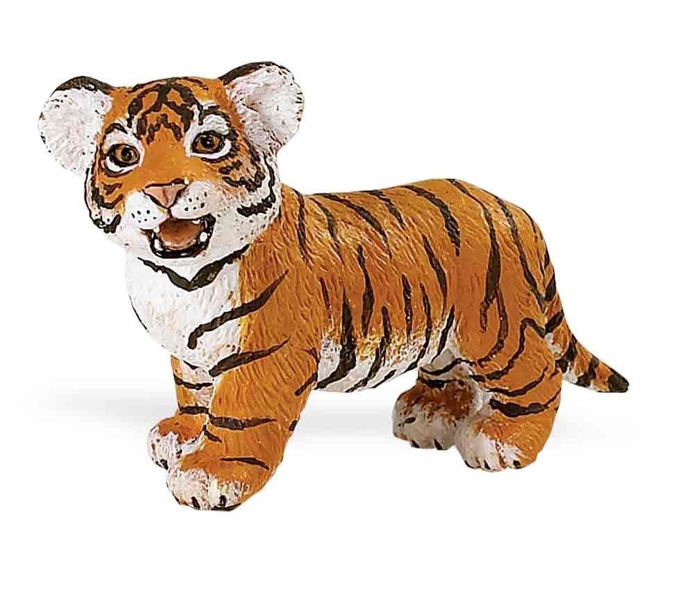 Animals & Dinosaurs Toys & Hobbies White Bengal Tiger Baby 6 Cm Series Wild Animals Safari Ltd 295029