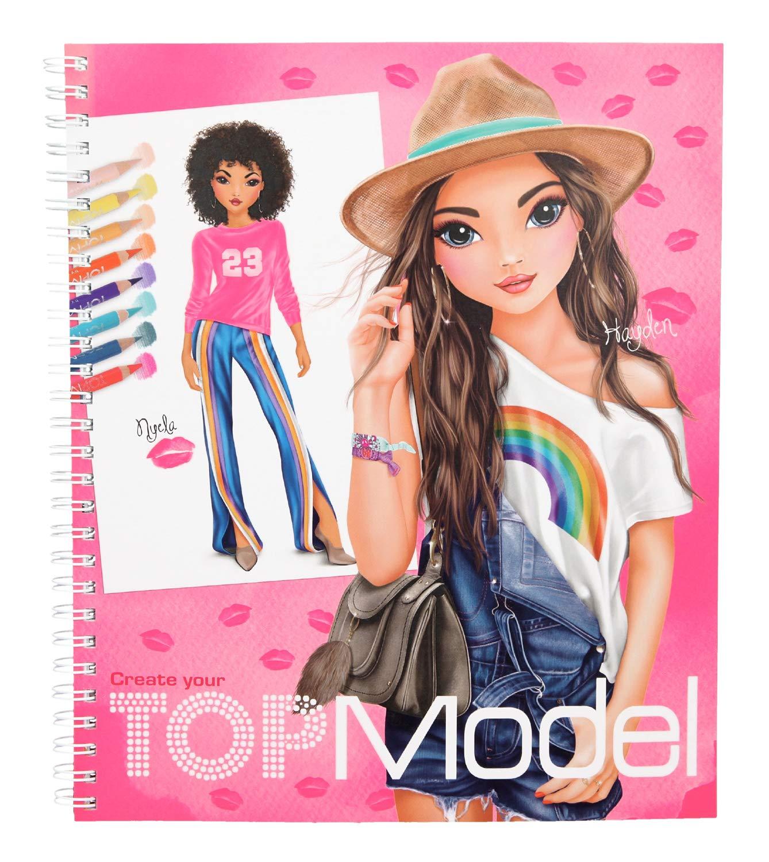 Details Sur Depesche 10203 Colorer Livre Creez Votre Top Model