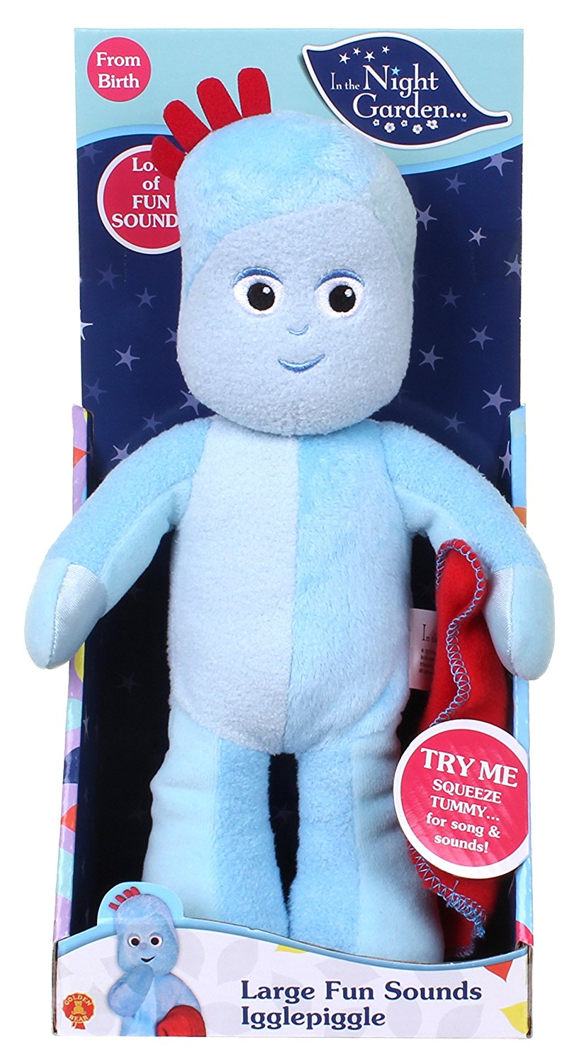 In the Night Garden Large Igglepiggle Fun Sounds Soft Toy ...