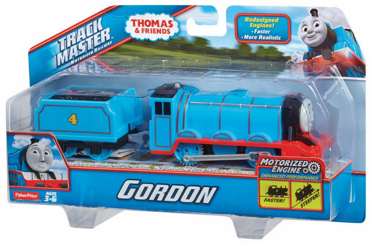 Thomas & Friends Trackmaster Gordon Engine | eBay