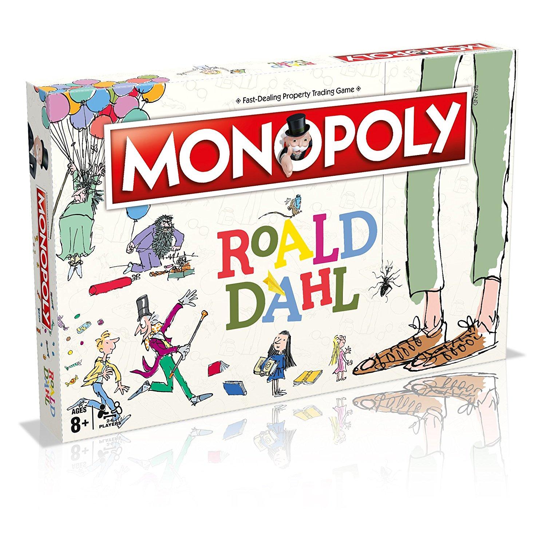 Winning Moves Roald Dahl Monopoly Brettspiel | eBay