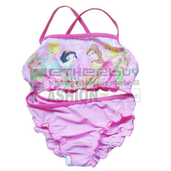 Girls Princess Mermaid Tankini Swimsuit Swimwear Holiday Bathers 1 8 Years Beach