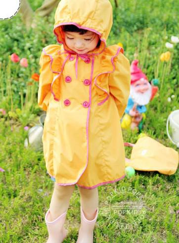 Yellow Rain Coat Kids