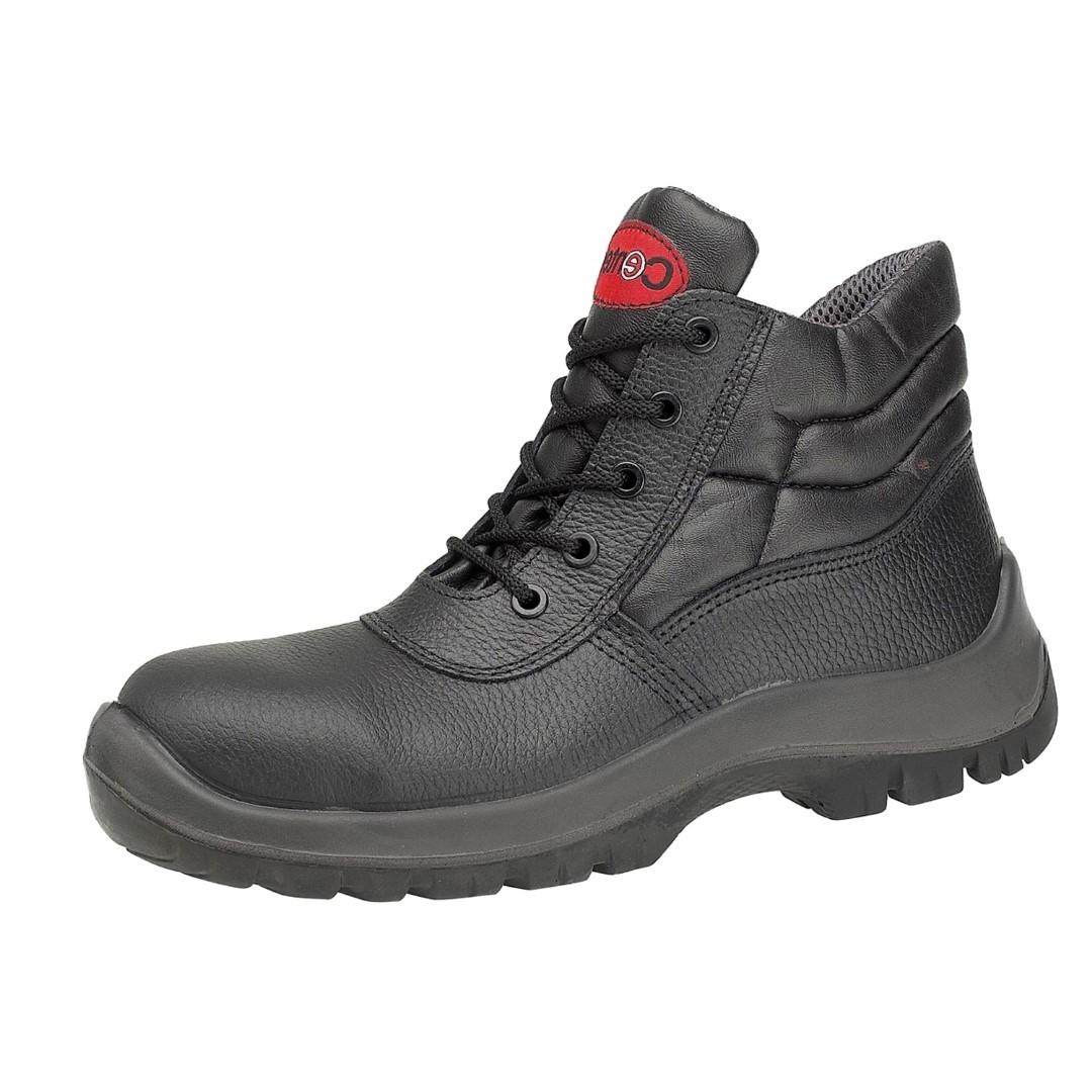 e94f68621cd Centek Mens Fs30C Safety Work Boots Black