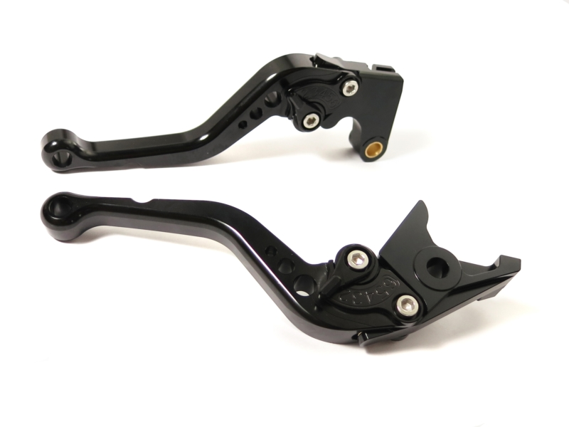 MMS-Corsa-Corto-Nero-CNC-Freno-Frizione-Leva-per-Honda-CB599-CB600-HORNET-CB919