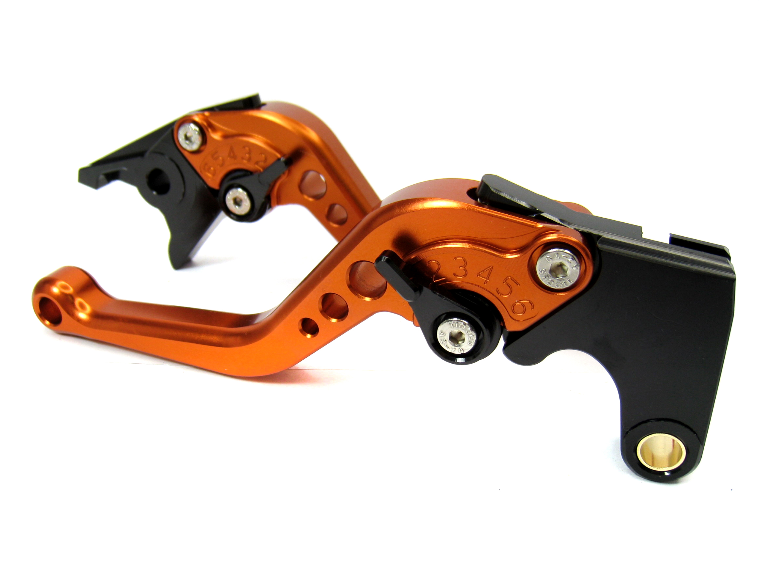 Short-Orange-CNC-Front-Brake-Clutch-Levers-for-Ducati-S4RS-2006-2008-2007-SOB