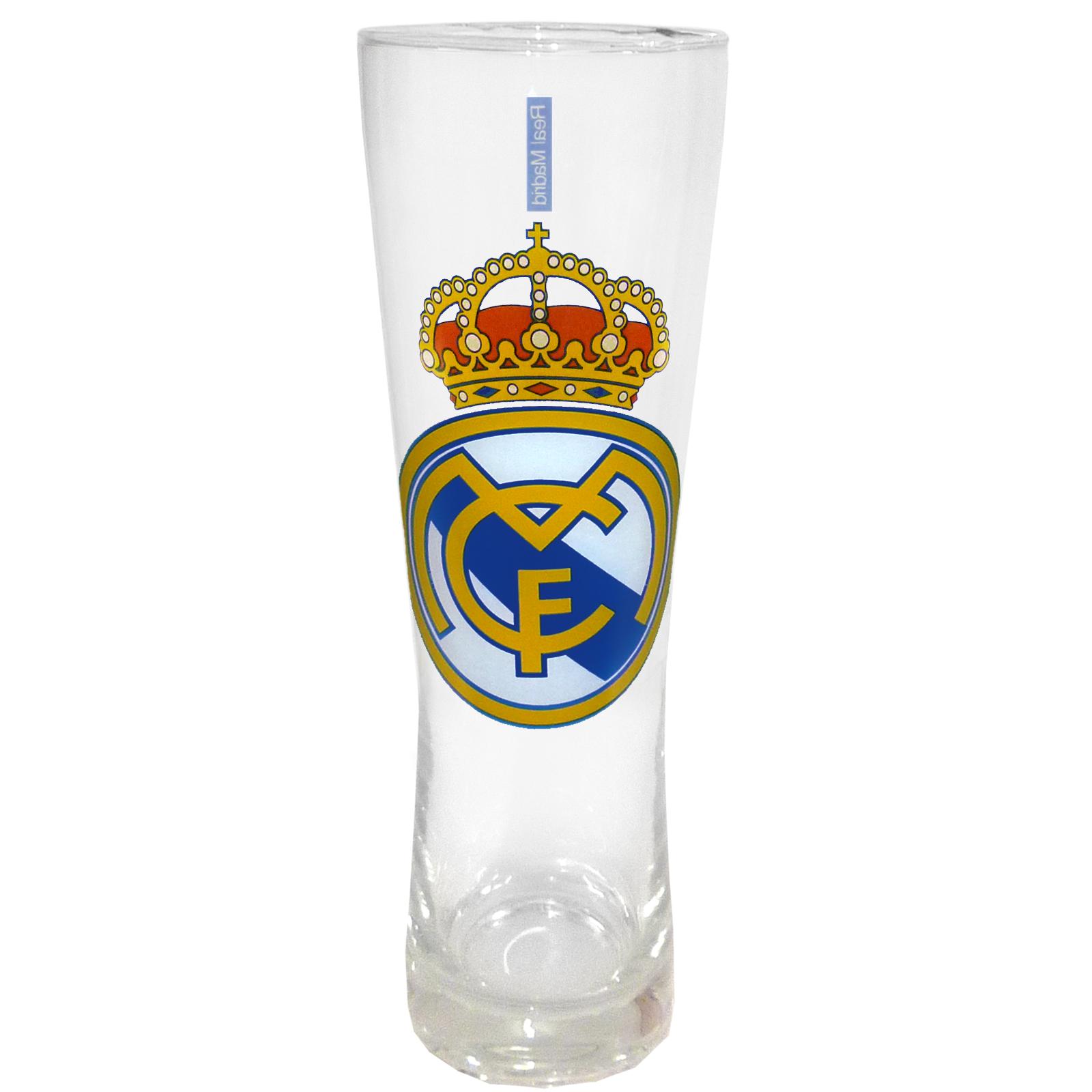 Tottenham Hotspur FC Wordmark Tall Pint Glass Clear//Blue One Size