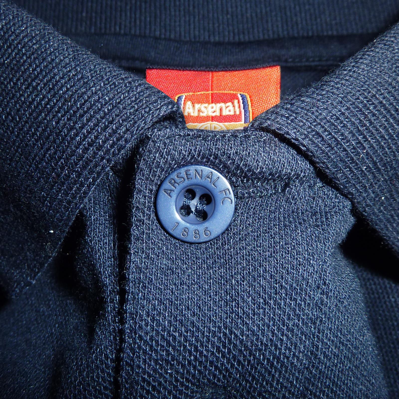Arsenal Football Club Official Soccer Gift Kids Crest Long Sleeve Raglan T-Shirt