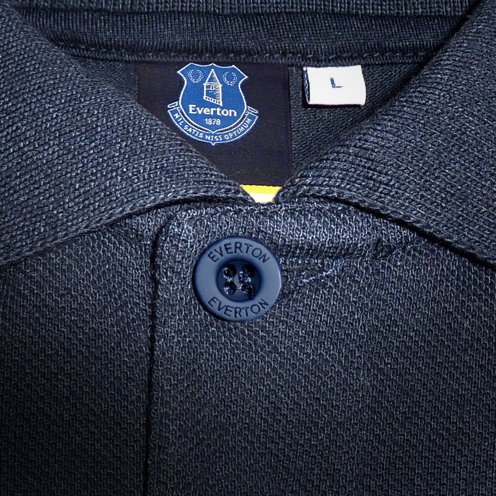 Everton-FC-Official-Football-Gift-Mens-Crest-Polo-Shirt thumbnail 13