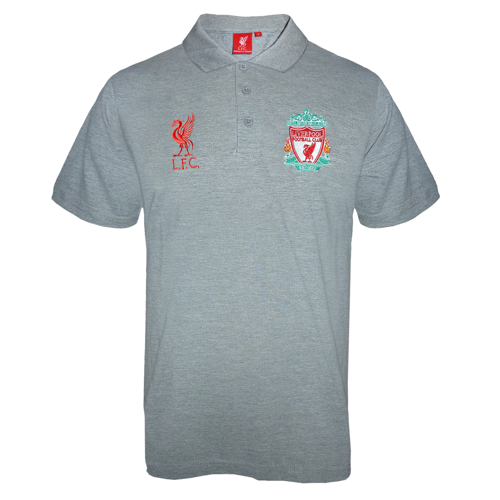 fc856e067 Liverpool Football Club Official Soccer Gift Mens Crest Polo Shirt ...
