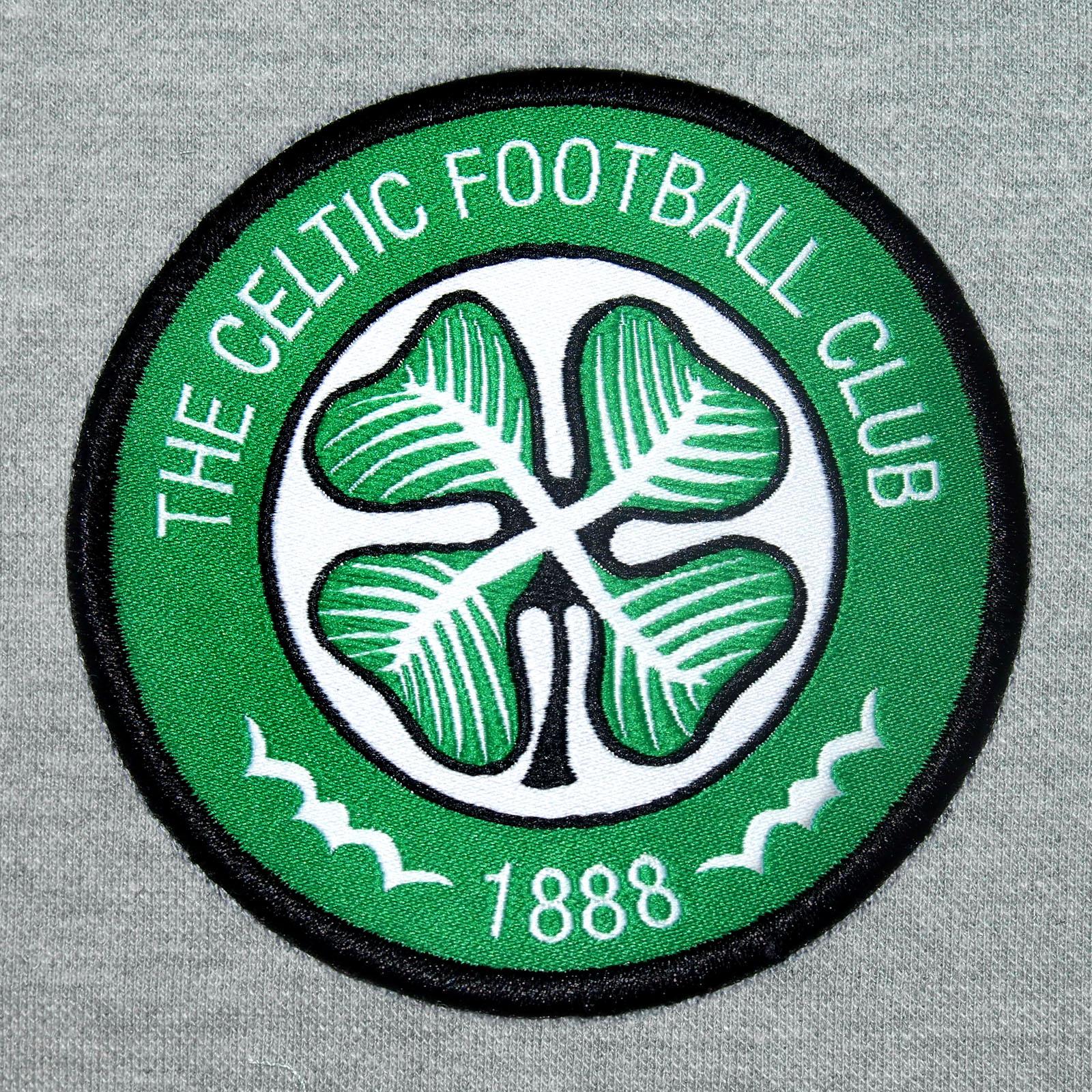 Celtic FC officiel - Polo de football pour homme - avec blason officiel - Gris - XL oOFtUfN