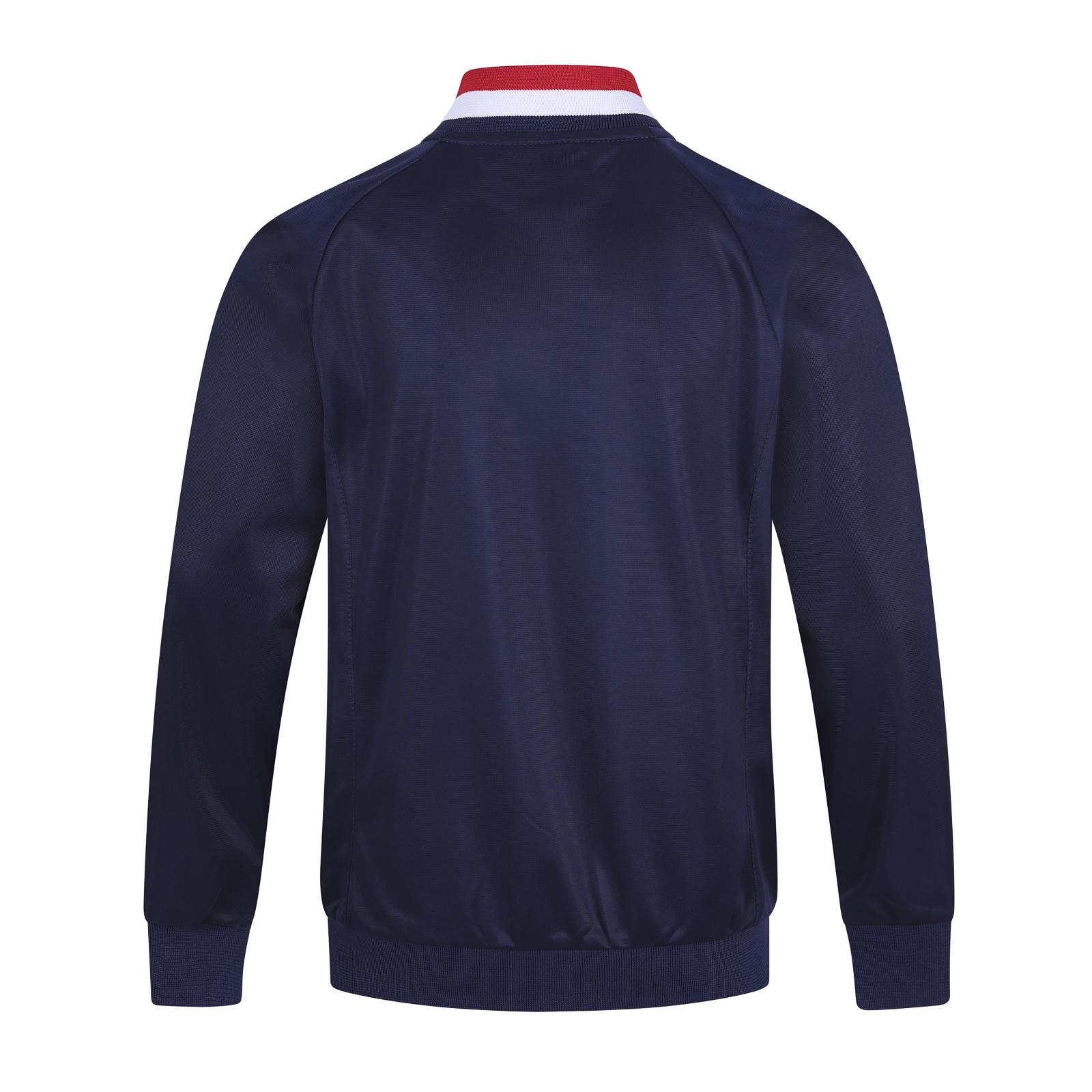 Arsenal-FC-Official-Football-Gift-Mens-Retro-Track-Top-Jacket 縮圖 6