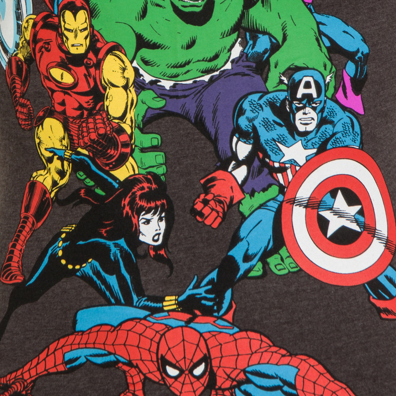 Marvel-Comics-Official-Gift-Boys-Kids-Character-T-Shirt-Hulk-Iron-Man-Thor thumbnail 6