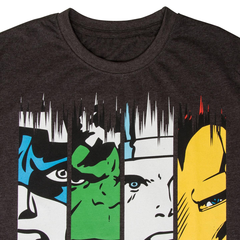 Marvel-Comics-Official-Gift-Boys-Kids-Character-T-Shirt-Hulk-Iron-Man-Thor thumbnail 4