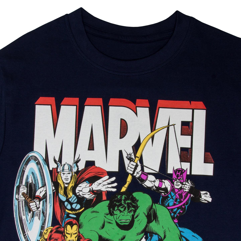 Marvel-Comics-Official-Gift-Boys-Kids-Character-T-Shirt-Hulk-Iron-Man-Thor thumbnail 14