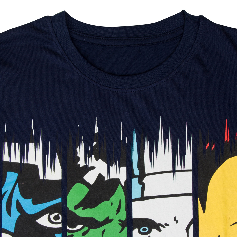 Marvel-Comics-Official-Gift-Boys-Kids-Character-T-Shirt-Hulk-Iron-Man-Thor thumbnail 11