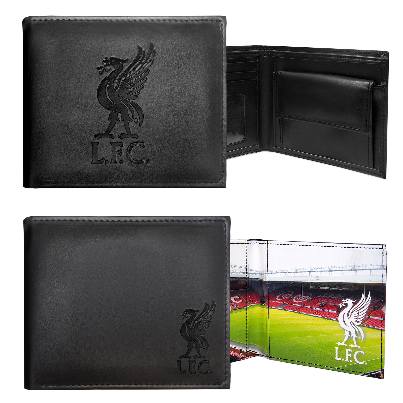 Liverpool-FC-Official-Football-Gift-Embossed-Crest-Wallet-Black