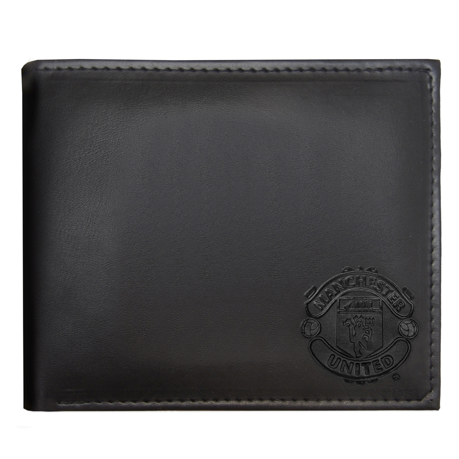 Manchester-United-FC-Official-Football-Gift-Embossed-Crest-Wallet thumbnail 6