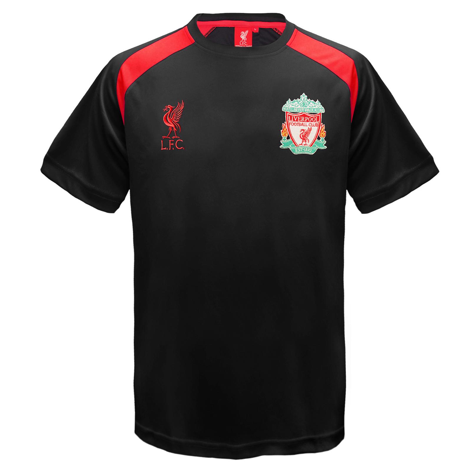 Liverpool-FC-Camiseta-oficial-de-entrenamiento-Para-nino-Poliester