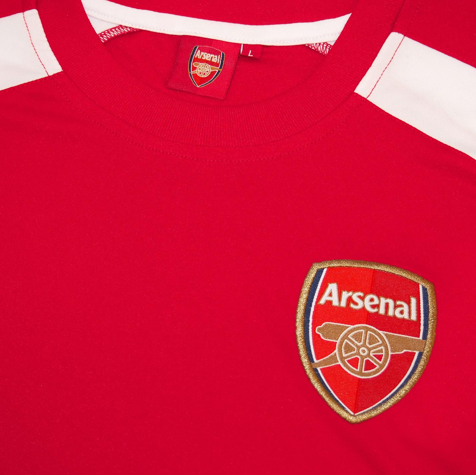 ebcdf1f3310 Arsenal FC Official Football Gift Boys Poly Training Kit T-Shirt